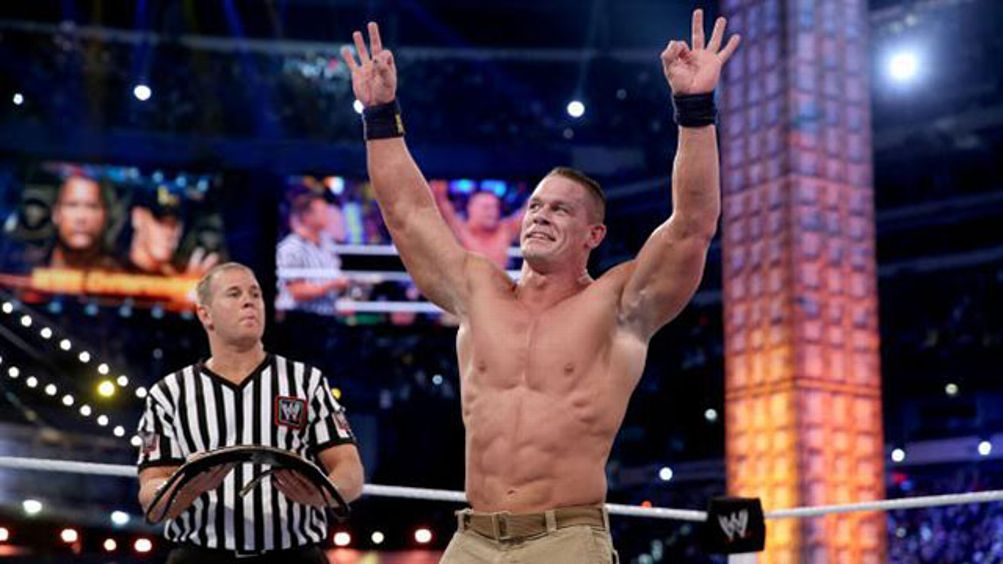 John Cena at WrestleMaina 29