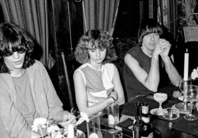 Joey Ramone, Linda Daniele & Johnny Ramone