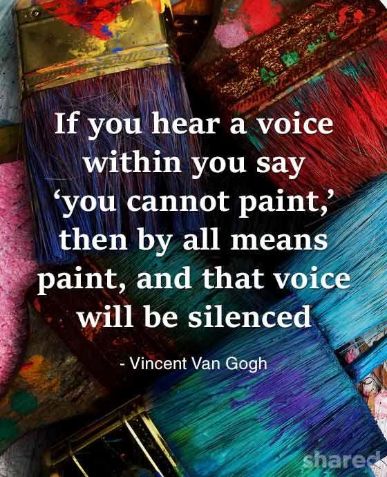 Van Gogh Self-confidence
