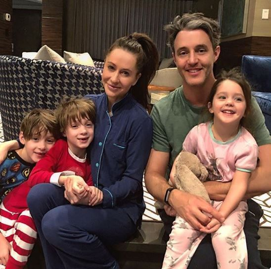 Jessica Mulroney and her family
