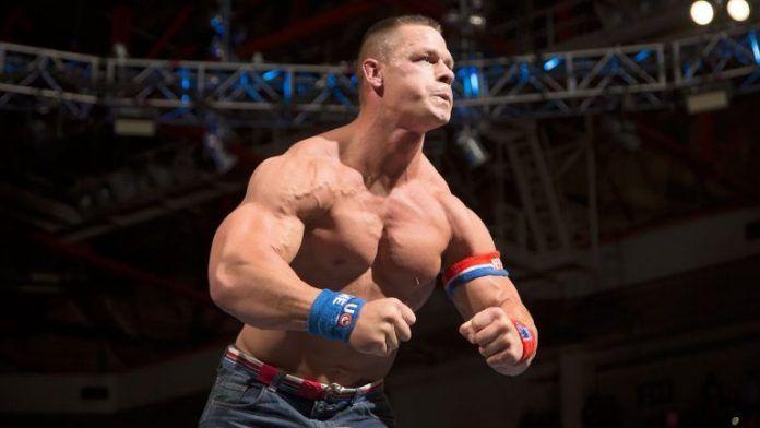 John Cena in the ring