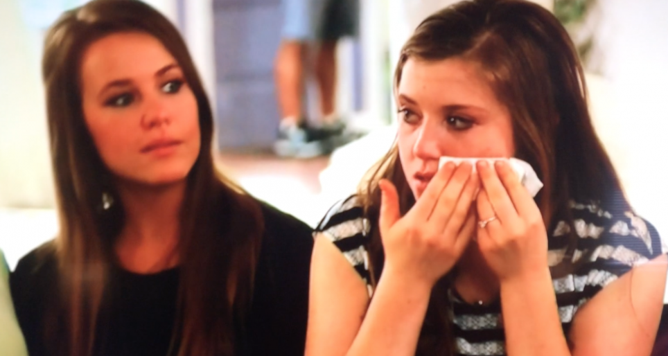Joy-Anna crying
