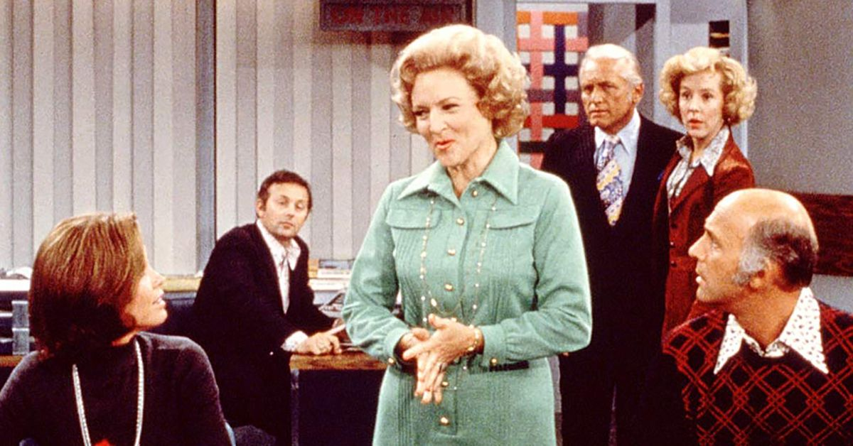 Betty White on The Mary Tyler Moore Show