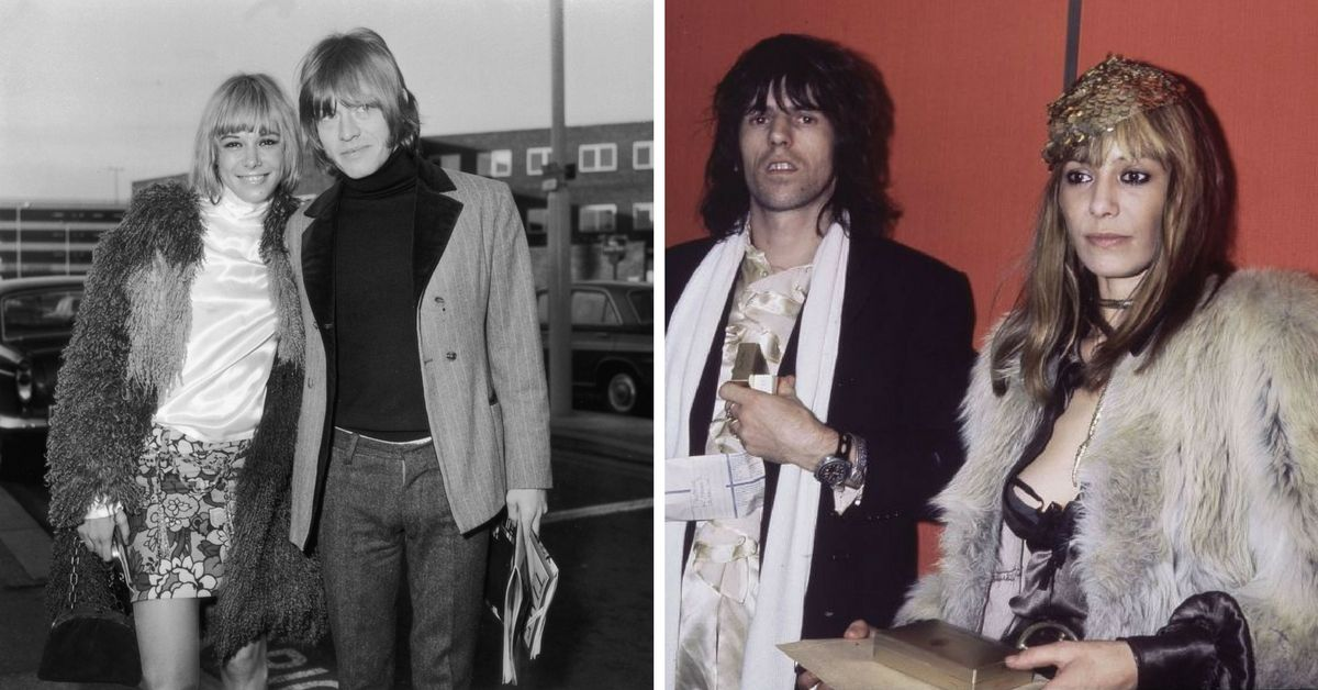 Brian Jones, Anita Pallenberg & Keith Richards