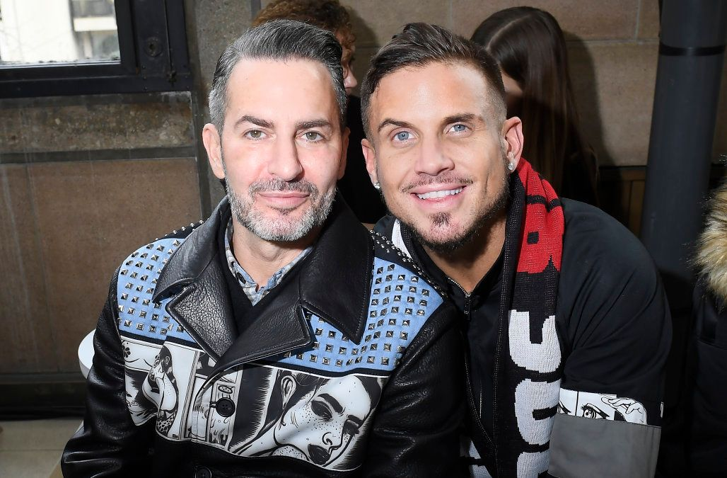 Marc Jacob and his fiance