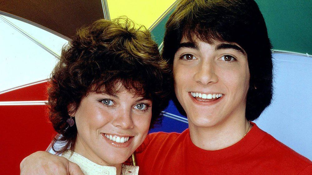 Erin Moran and Scott Baio