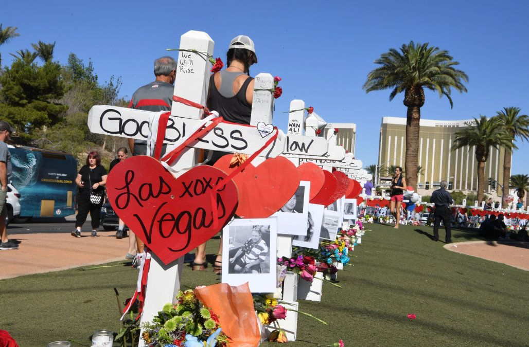 Greg Zarin's crosses in Las Vegas