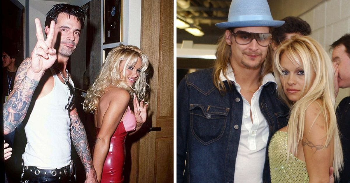 Tommy Lee, Pamela Anderson & Kid Rock
