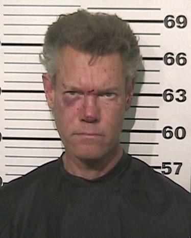 Randy Travis's mugshot