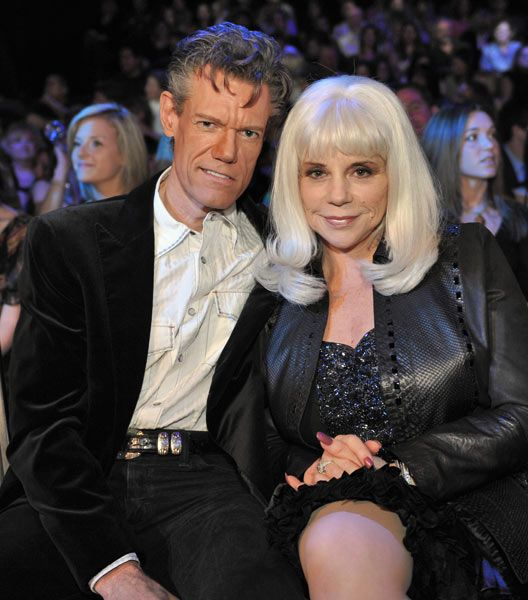 Randy Travis and Libby Hatcher