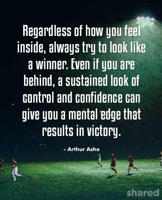 Arthur Ashe on Real Confidence