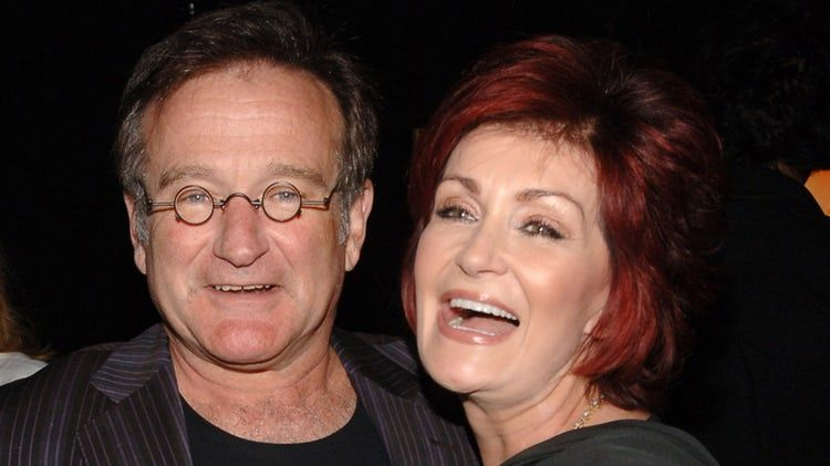 Robin Williams and Sharon Osbourne