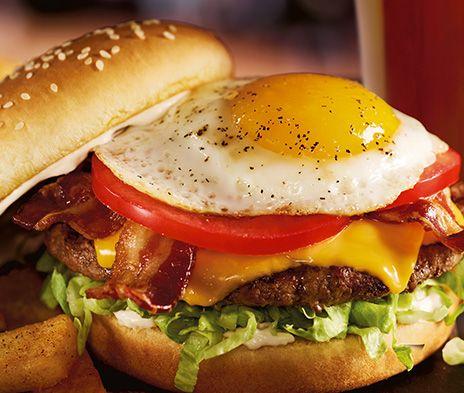 Royal Red Robin burger