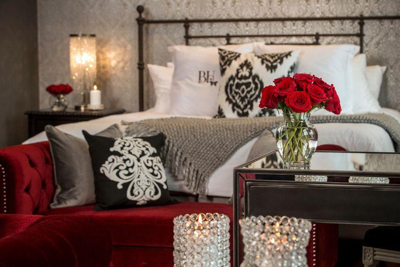 The boudoir room
