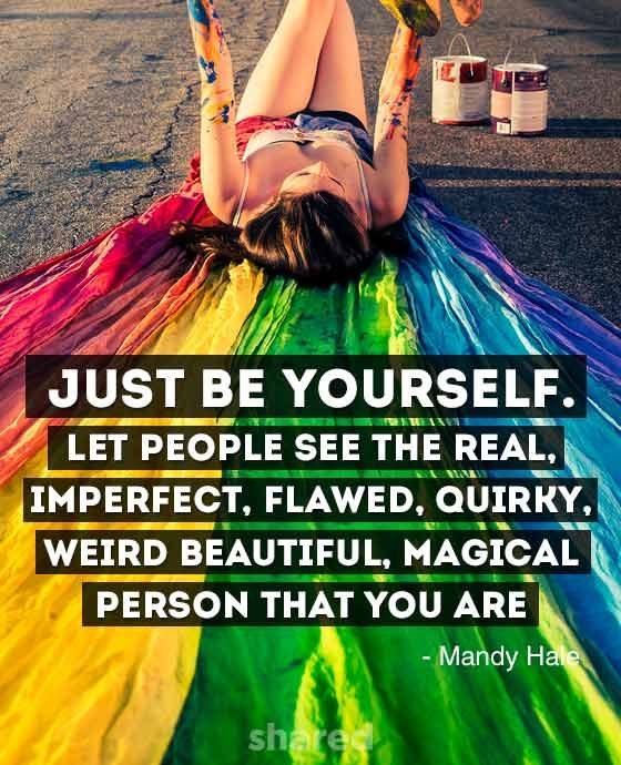 Be Yourself Quote Mandy Hale