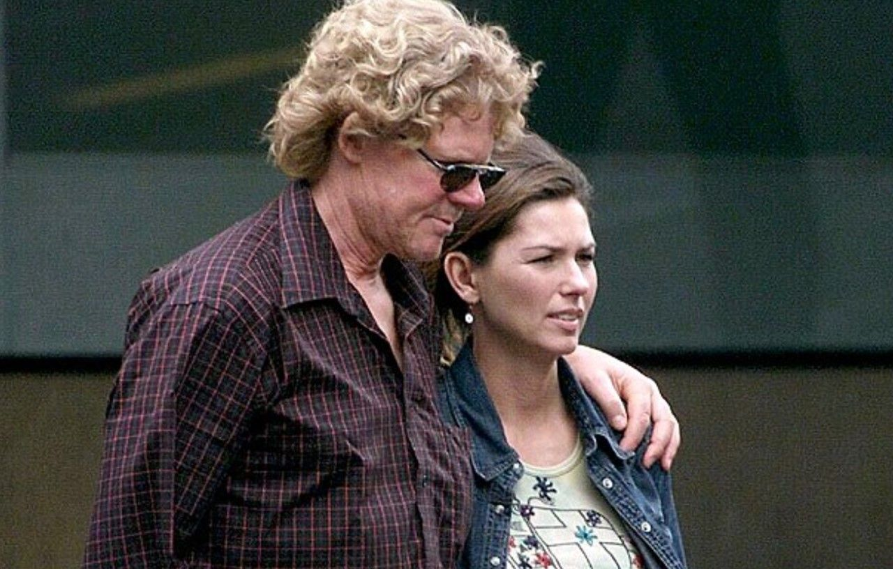 Shania Twain and Mutt Lange