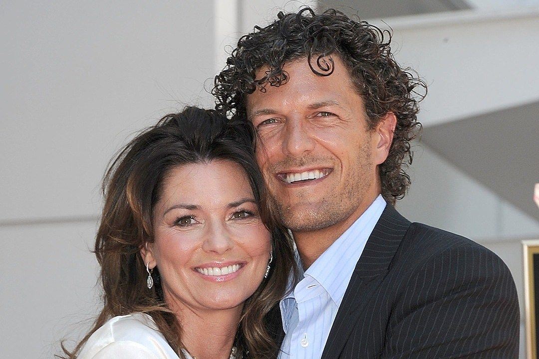 Frédéric Thiébaud and Shania Twain
