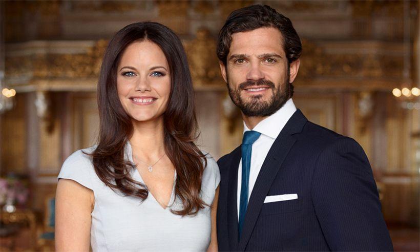 Prince Carl and Princess Sofia