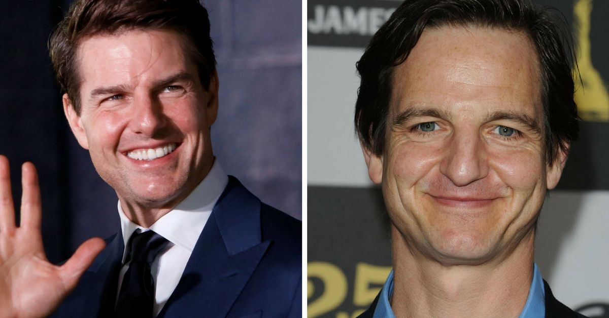 Tom Cruise and William Mapother side by side