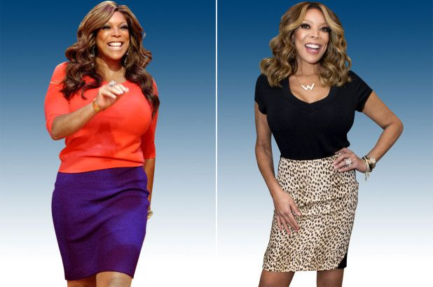 Wendy Williams before and after her weight loss