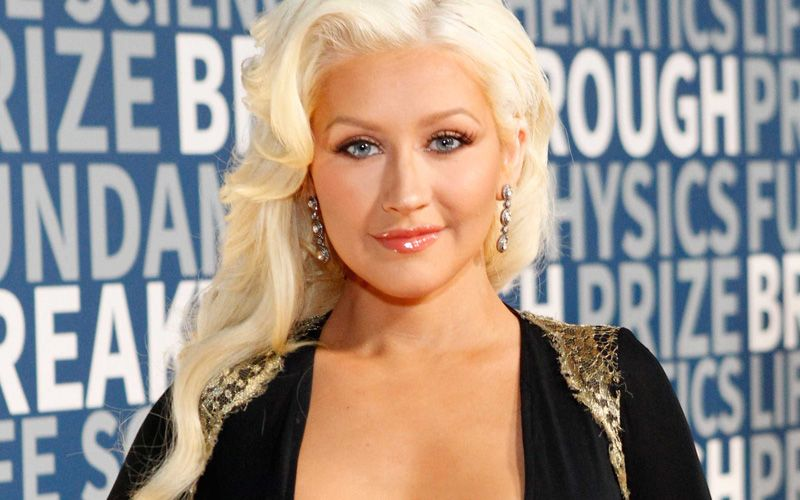 Christina Aguilera at the  2016 Breakthrough Prize Ceremony