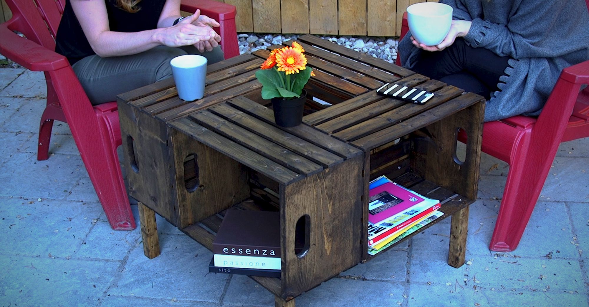 Make It Your Own With This Diy Wooden Crate Coffee Table
