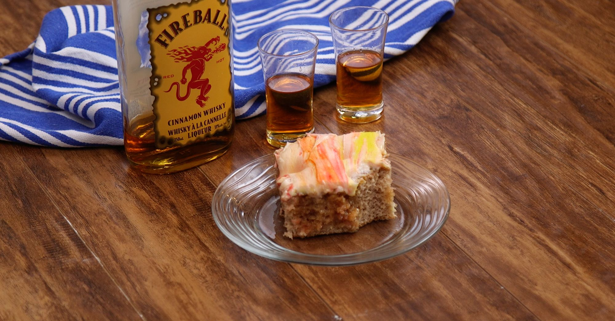 Fireball Poke Cake Is Bursting with Delicious Flavors