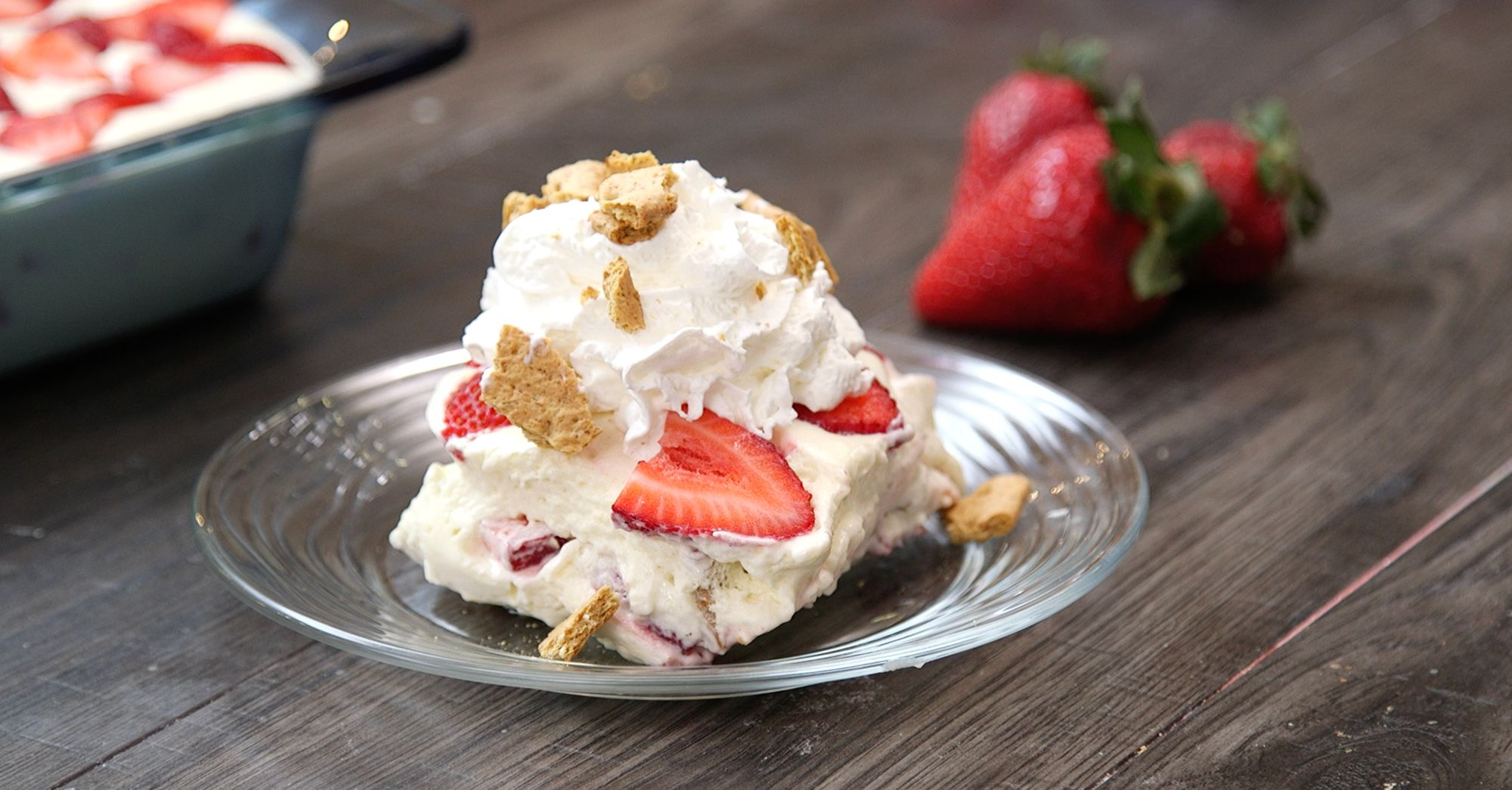 Strawberry Cream Cheese Icebox Cake Is Perfect for Summer