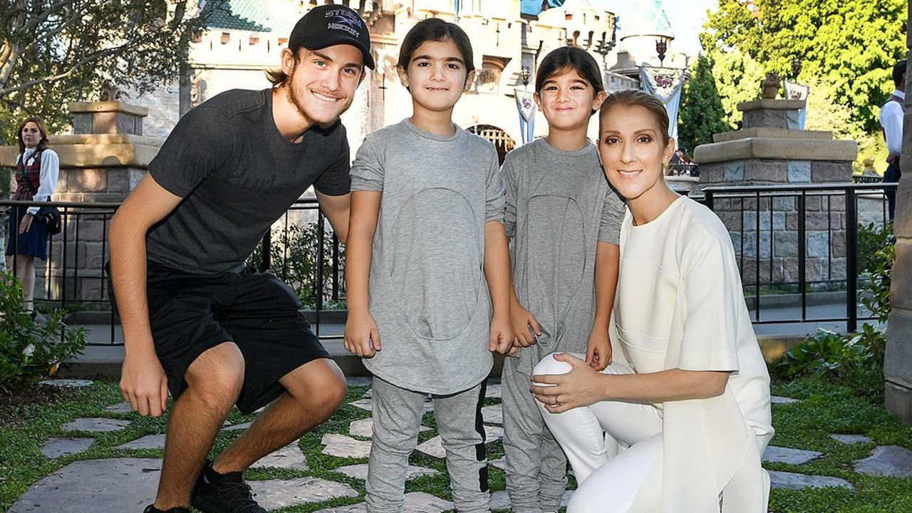 Celine and her three sons