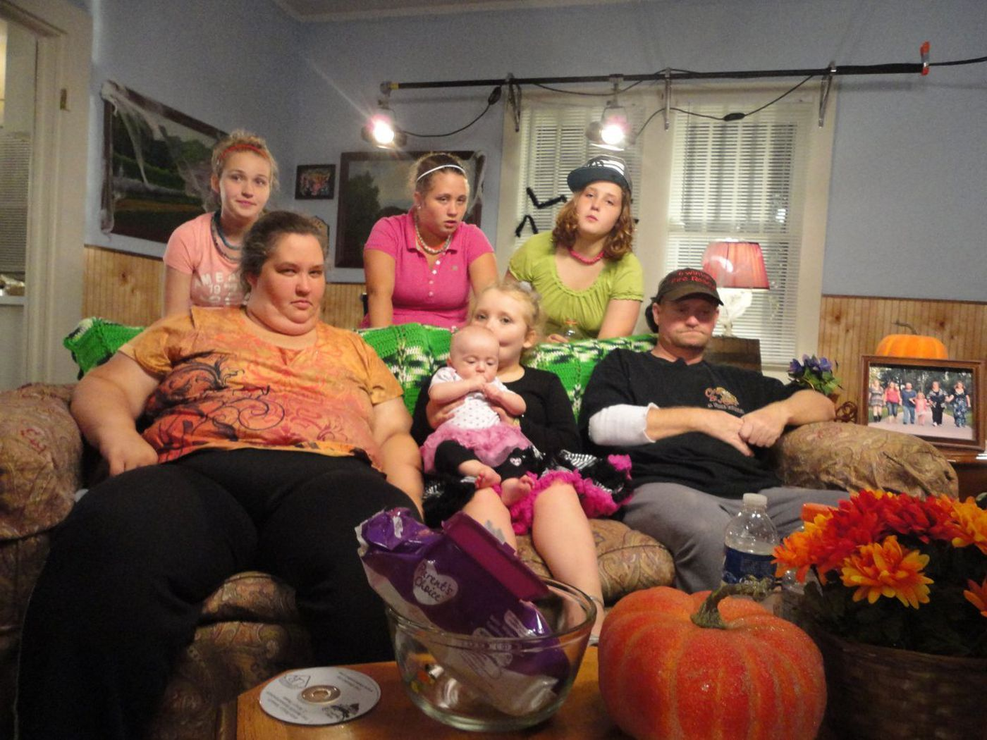 Mama June and her family