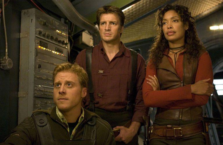 A scene in Firefly