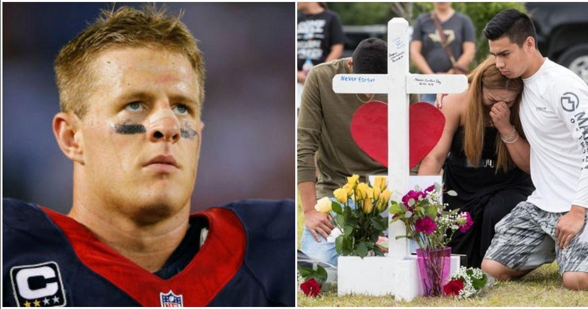 Football Star J.J. Watt's Act Of Kindness For The Santa Fe Shooting Victims Inspires Us All