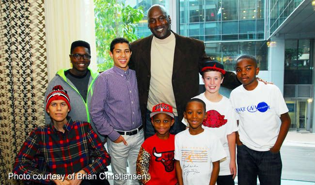 Michael Jordan Make-A-Wish