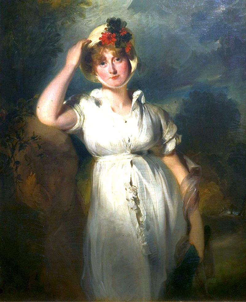 A portrait of Princess Caroline