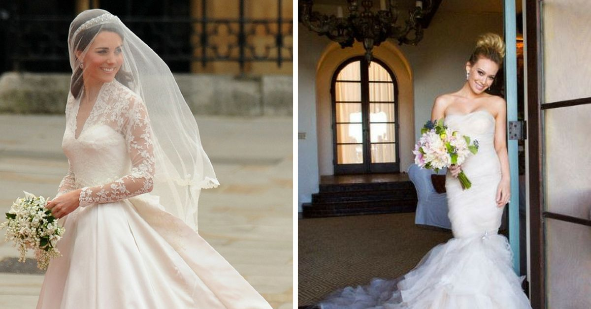 20 Iconic Celebrity Wedding Dresses That Stand The Test Of Time