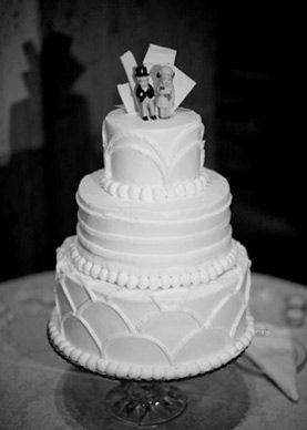 1930 wedding cake