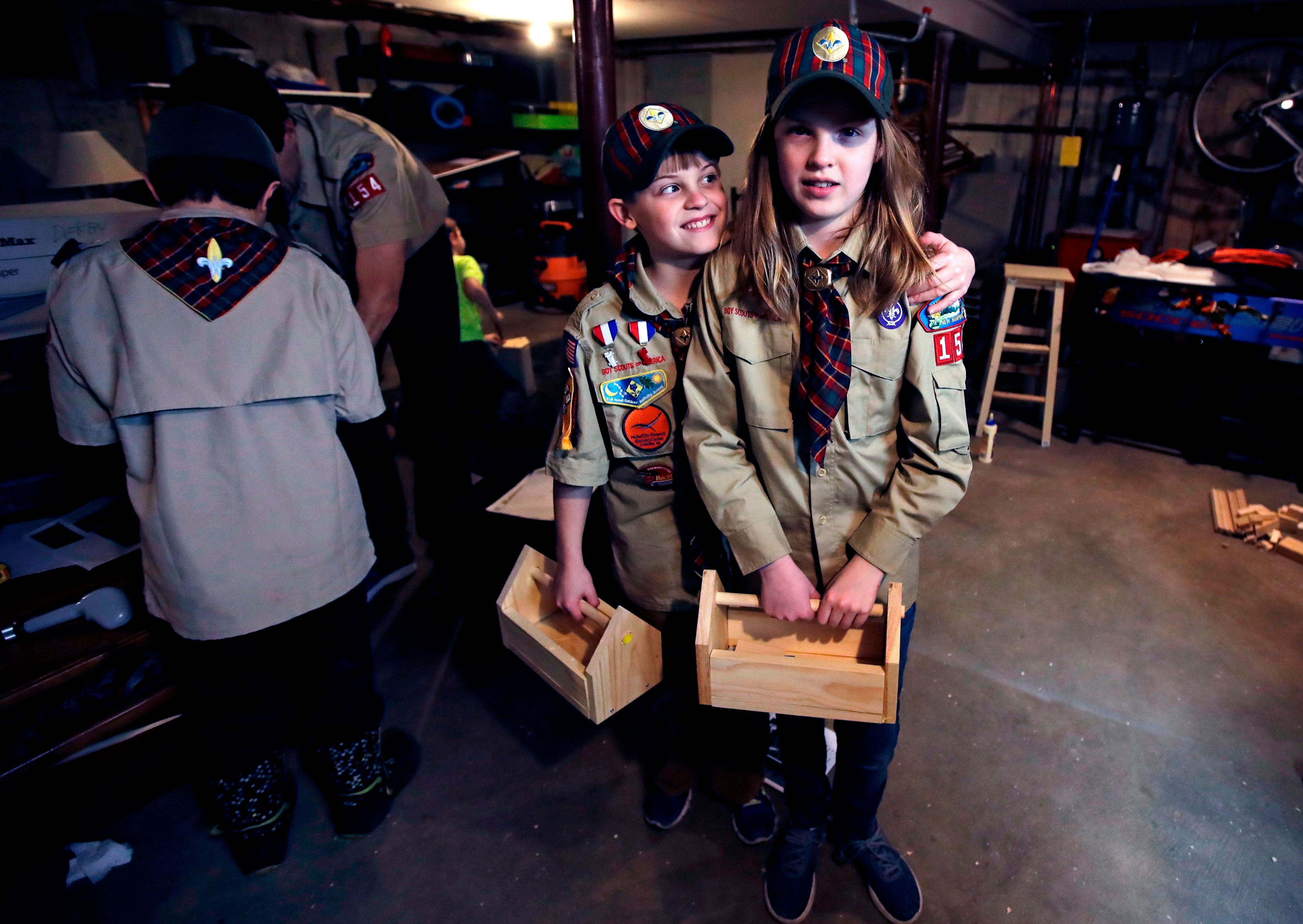 Boy and Girl Scout