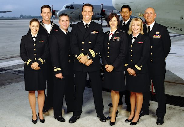 The cast of JAG