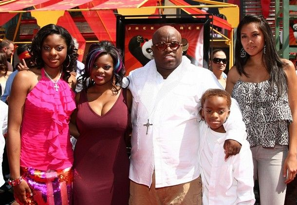 Cee Lo Green and his family