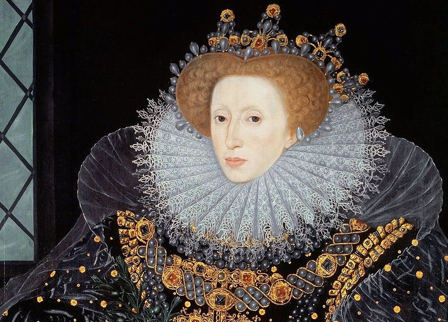 A portrait of Queen Elizabeth I