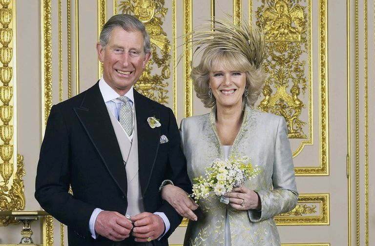 Prince Charles and Camilla at their wedding