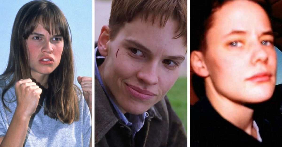 Hilary Swank as Brandon Teena