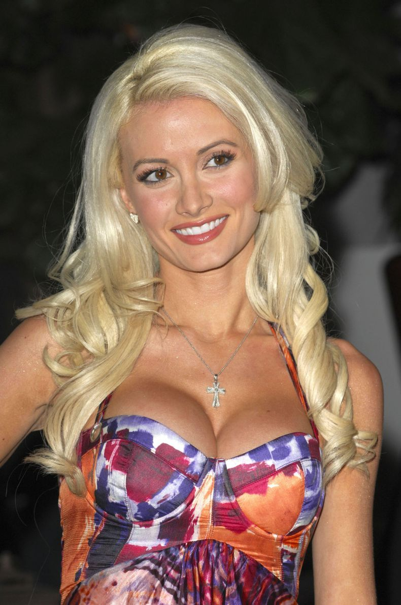 Holly Madison posing