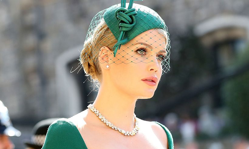 Lady Kitty Spencer at the royal wedding