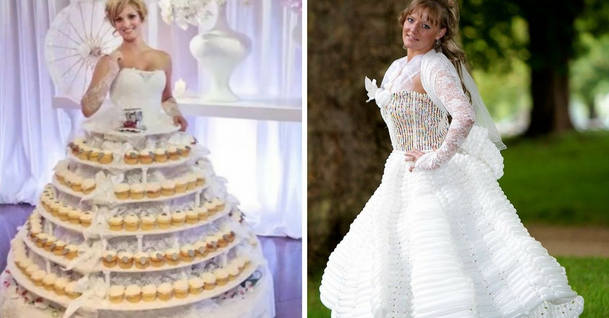 19 Outrageous Wedding Dresses That Would Make Any Groom\'s Jaw Drop