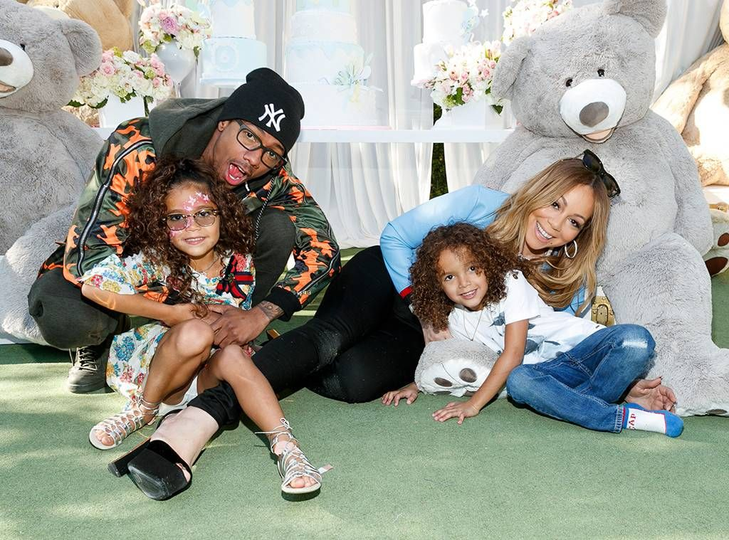 Mariah Carey celebrating her twins's birthday