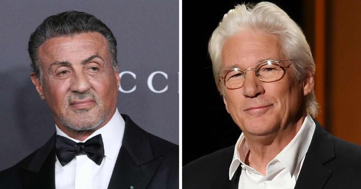 Sylvester Stallone and Richard Gere