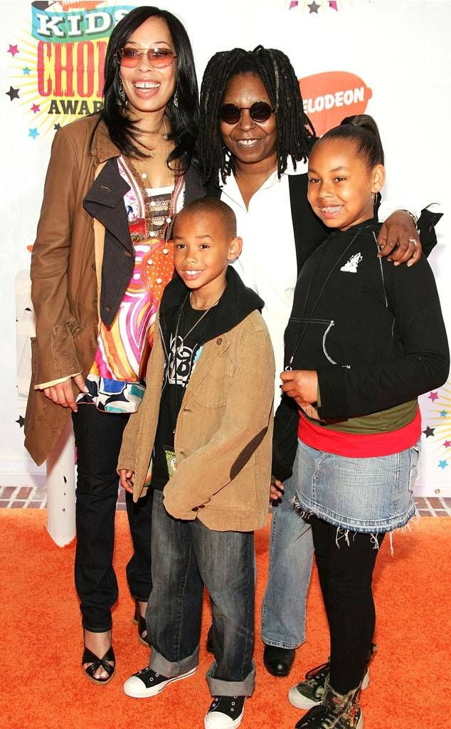Whoopi Goldberg and her family