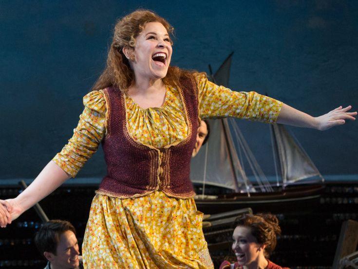 """Lindsay Mendez performing in """"Carousel"""""""