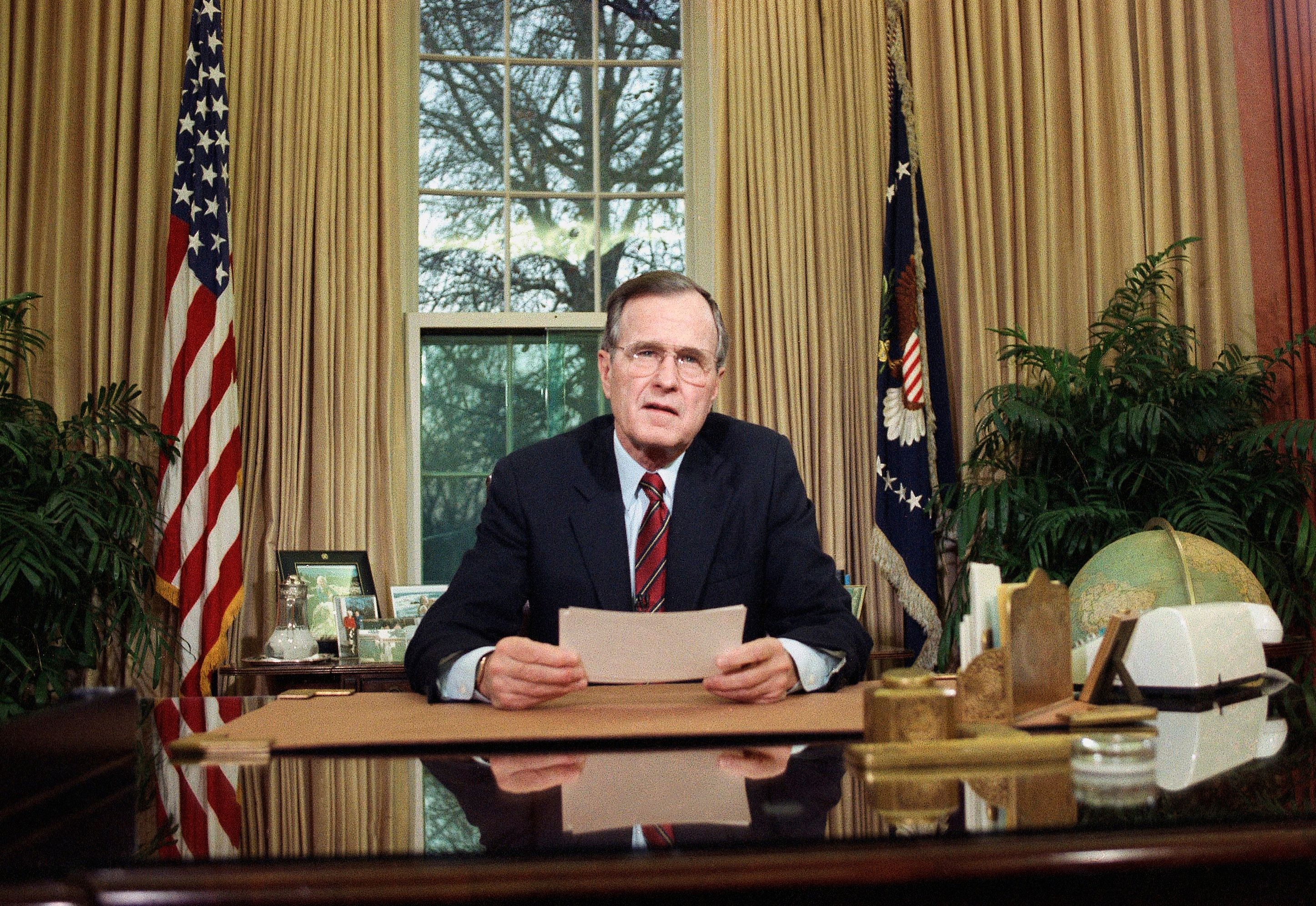 Former President George H.W Bush Turns 94 And Makes History